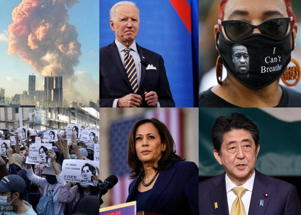 از اعتراضات به نژاد پرستی در آمریکا تا کودتای میانمار