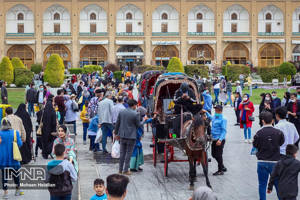 آخرین آمار اقامت گردشگران در هتلهای اصفهان