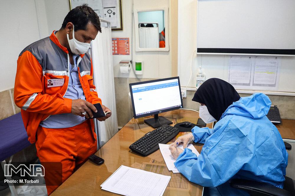 واکسیناسیون پاکبانان گلشهری در مقابل ویروس کرونا