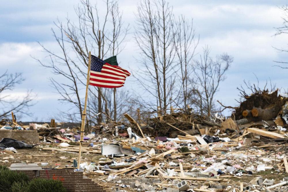 طوفان در آمریکا ۵ قربانی گرفت