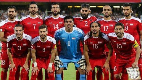 تیم ملی فوتبال سوریه وارد تهران شد+ تصاویر