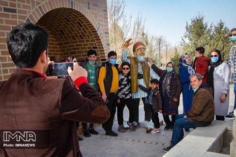 المان های نوروزی شهر همدان