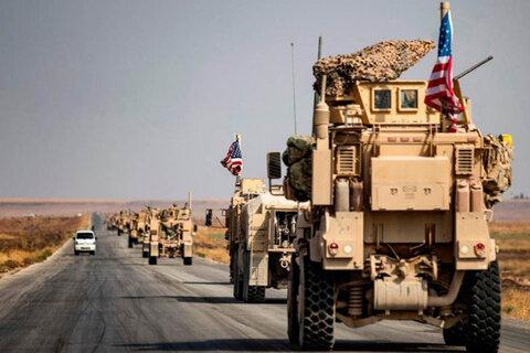 کاروان لجستیکی آمریکا در بغداد مورد هدف قرار گرفت