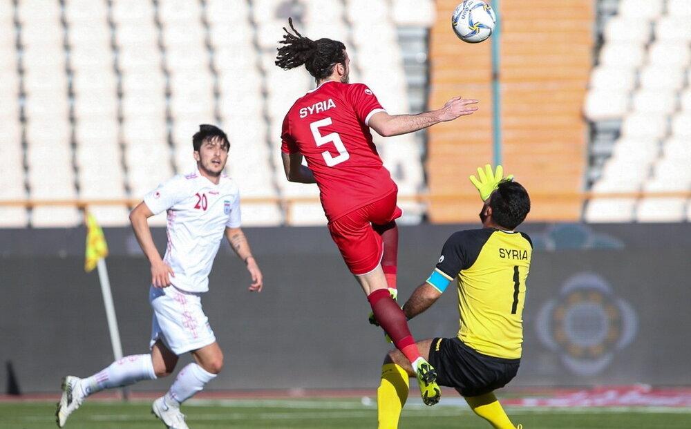 آنالیز عملکرد تیم ملی مقابل سوریه با امید بندیداریان