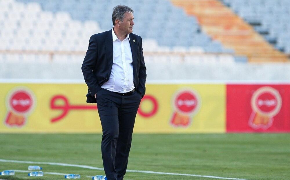 اسکوچیچ: به بازیکنانم به خاطر تلاش زیاد تبریک میگویم