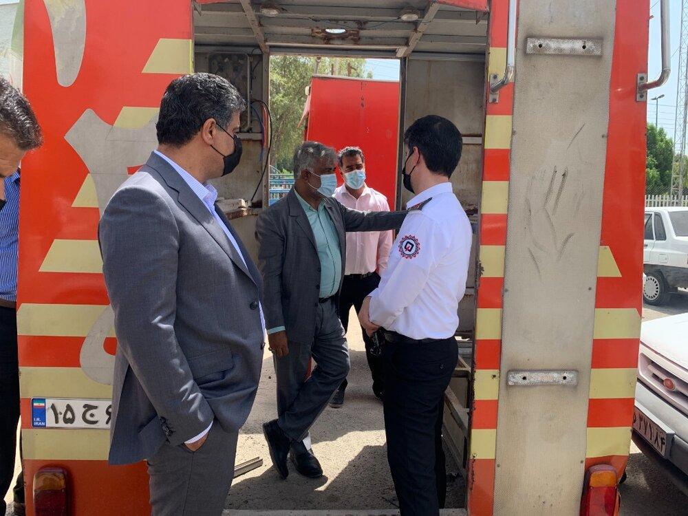 راهاندازی تعمیرگاه تخصصی خودروهای آتشنشانی در بندرعباس
