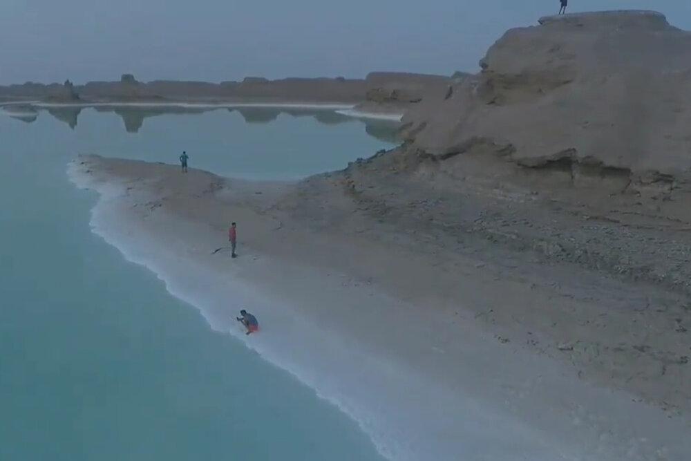 دریاچه جوان لوت بیرجند ۲ ساله شد