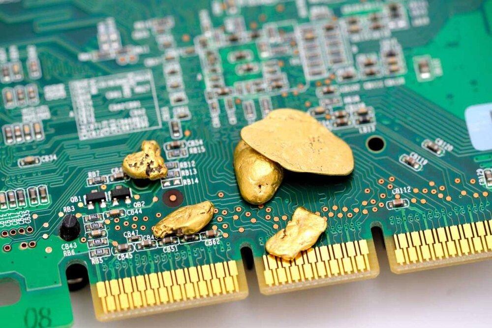 بازیافت فلزات ارزشمند از ضایعات الکترونیکی و اقتصاد مدور شهر