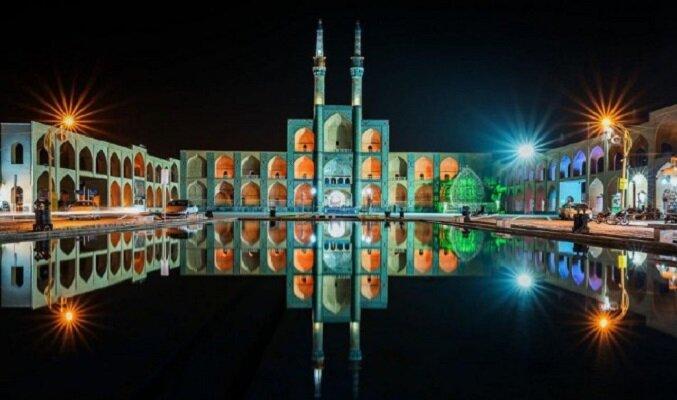 اجرای نمایش ویدیو مپینگ بر بنای تاریخی چخماق