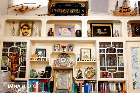 گفتگوی خبرنگاران ایمنا با سید علی نکویی در منزل شخصی