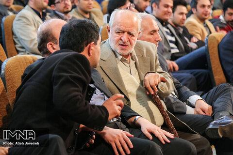 حضور سیدعلی نکویی در دانشگاه اصفهان - بهمن 94
