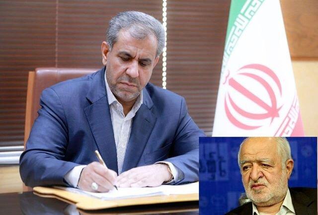 استاندار قزوین درگذشت سید علی نکویی را تسلیت گفت