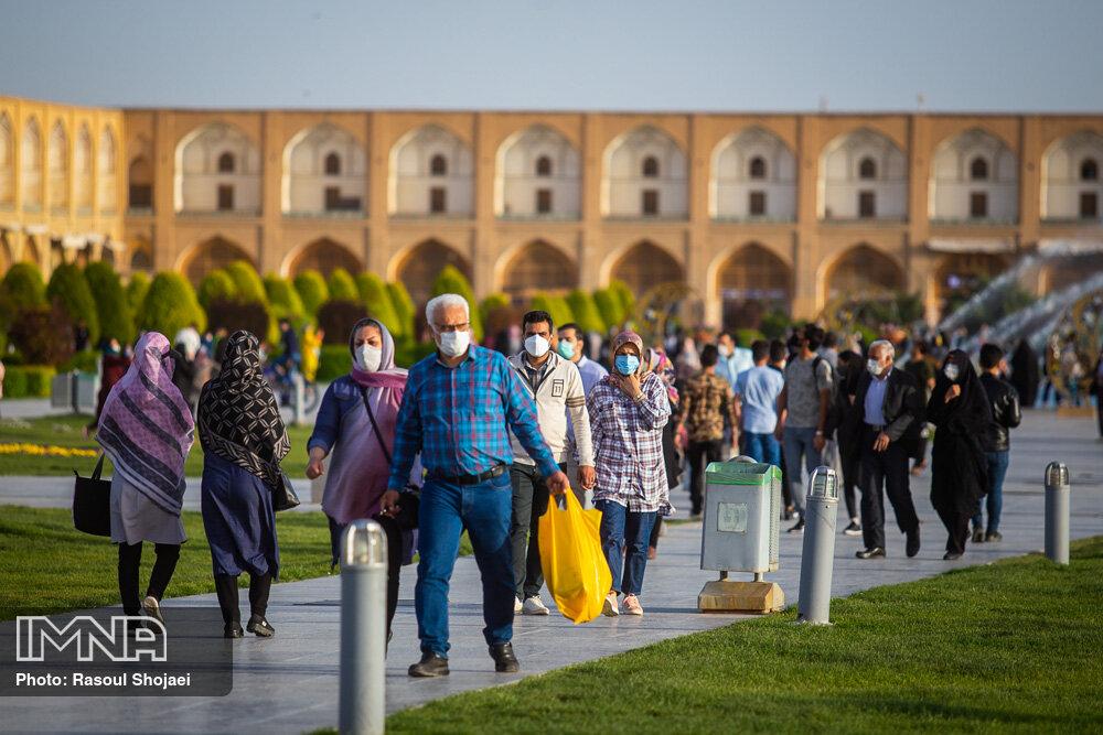 شیب صعودی ابتلای کرونا در اصفهان/۴۵ درصد تستها مثبت است