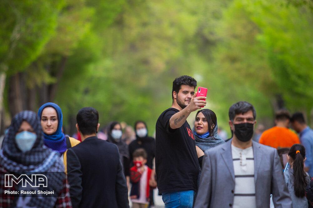 افزایش حضور گردشگران در باغهای تفریحی یاسوج با وجود وضعیت قرمز کرونا