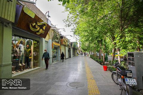تعطیلی بازار اصفهان