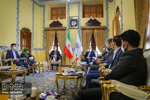 دیدار شهردار اصفهان با سفیر صربستان