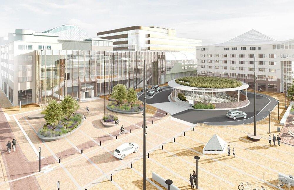 بازسازی فضاهای عمومی در شهرهای سوئد