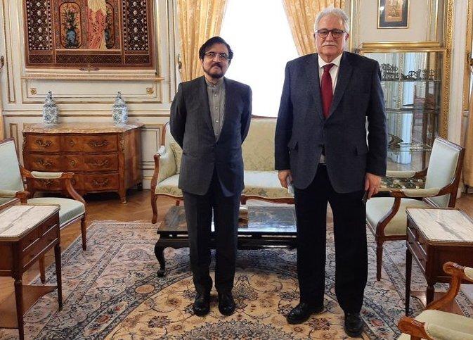 گفت وگوی سفیر ایران در فرانسه با رئیس مسجد بزرگ پاریس