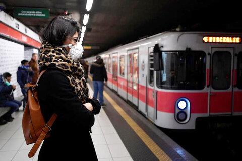 آغاز فعالیت قطارهای ضد کرونا در میلان