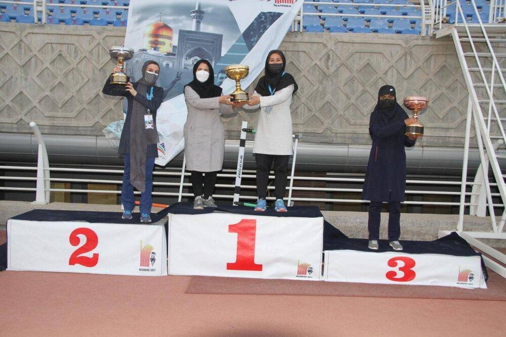 رکورد شکنی بانوی اصفهانی در پرش طول