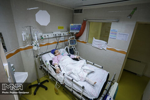 بیمار های بیمارستان الزهرا
