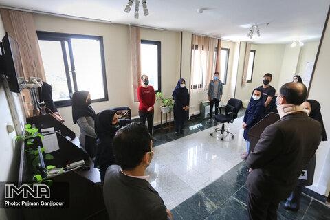 بازدید رئیس شورای اسلامی شهر اصفهان از خبرگزاری ایمنا