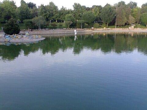 دریاچه باغ گلستان شهر جدید هشتگرد راهاندازی میشود