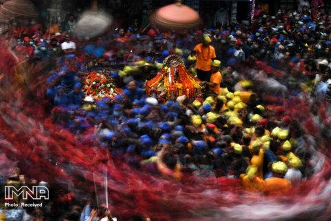 حضور مذهبیان هندی در جشنواره  Pahchare ، کاتماندو