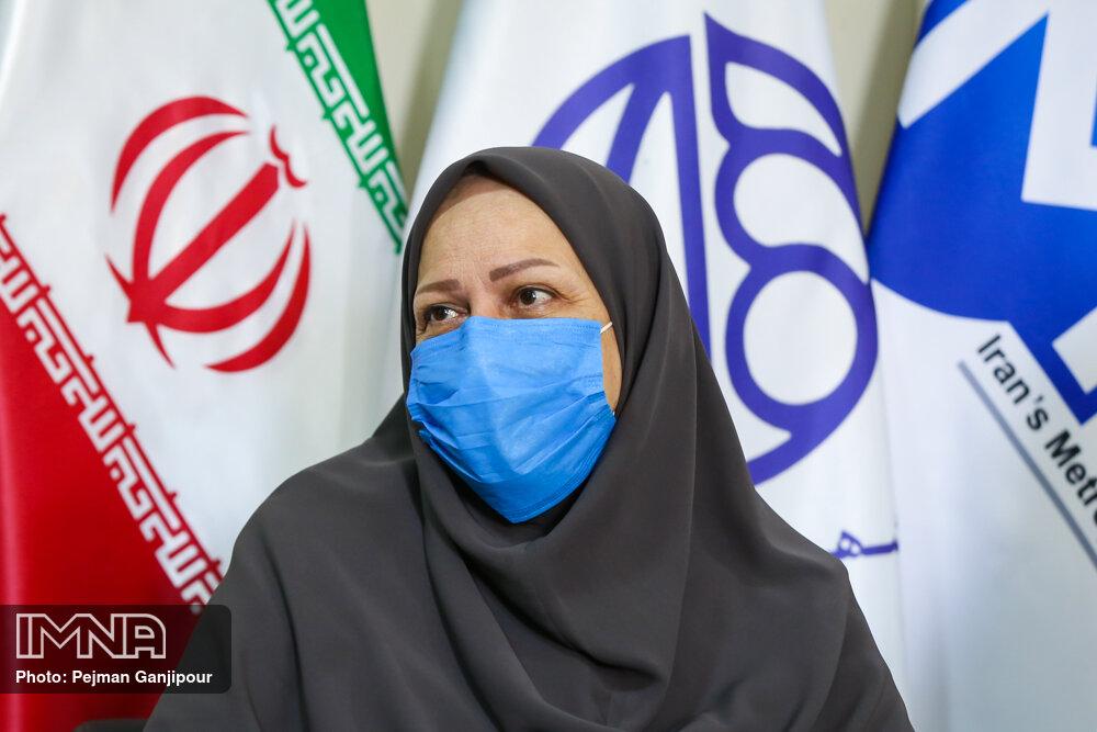 اجرای لحاف بتنی برای نخستین بار در فضای سبز شهر اصفهان