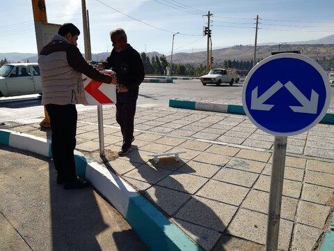 آغاز مرحله نخست ساماندهی ترافیکی منطقه ٩ اصفهان در سال جاری