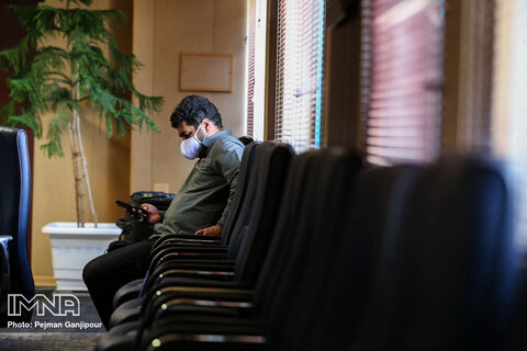 نشست خبری معاون درمان دانشگاه علوم پزشکی اصفهان