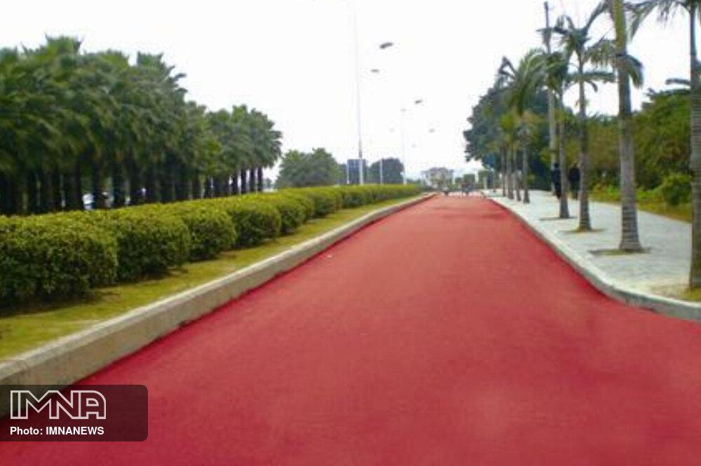 آسفالت رنگی در معابر شهر چه کاربردی دارد؟