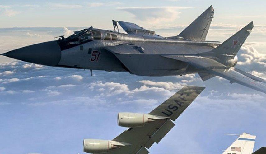 رویارویی جنگنده روسی با هواپیمای جاسوسی آمریکا