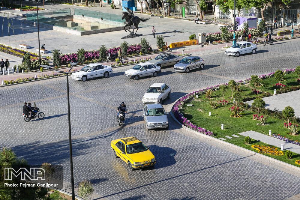 استقرار جوی پایدار در اصفهان/دمای هوا ۳ درجه افزایش مییابد