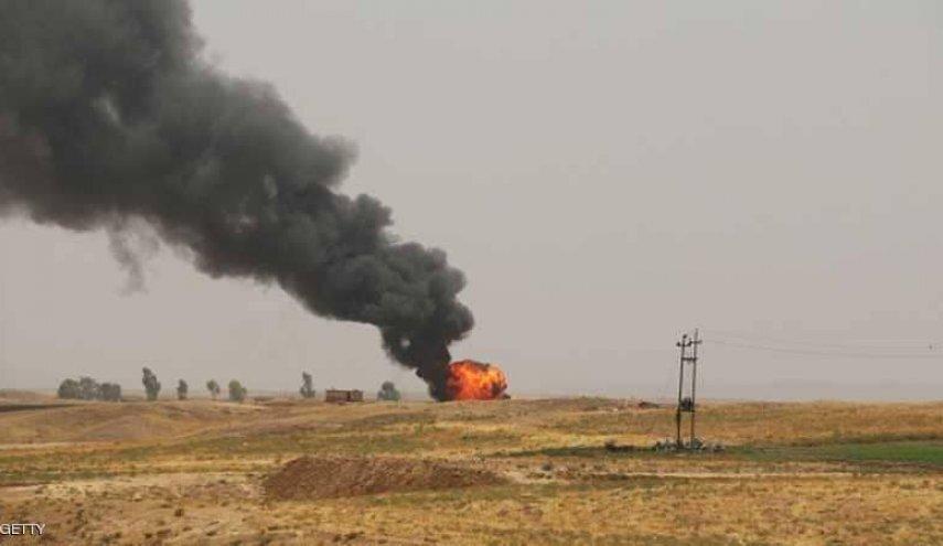 داعش یک چاه نفت را در شمال عراق منفجر کرد