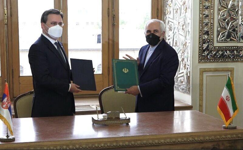یادداشت تفاهم همکاری میان ایران و صربستان امضا شد