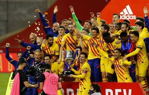 بارسلونا فاتح جام حذفی اسپانیا شد