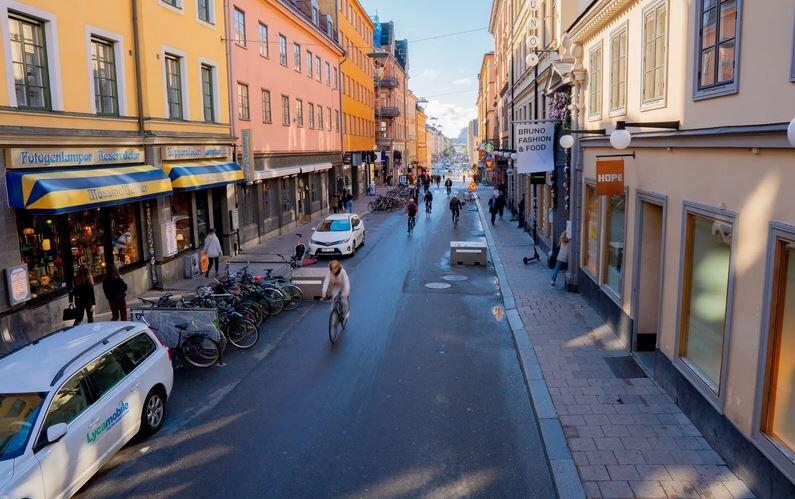 جنبش تبدیل پارکینگ ها به مکانهای عمومی در سوئد