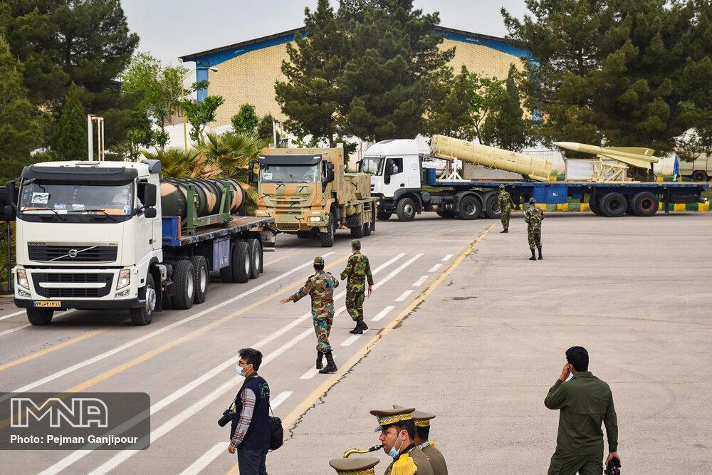 مراسم روز ارتش اصفهان