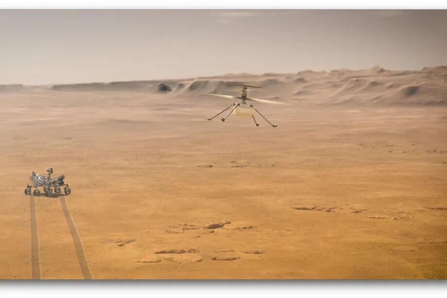 فردا نخستین پرواز نبوغ بر سطح مریخ انجام میشود