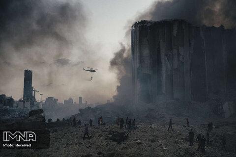 رتبه اول بهترین داستان تصویری  اخبار فوری انفجار انبار مواد شیمیایی در بیروت