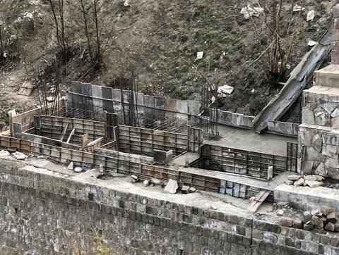 آغاز عملیات اجرای فاز دوم پروژه دیواره حفاظتی اسالم
