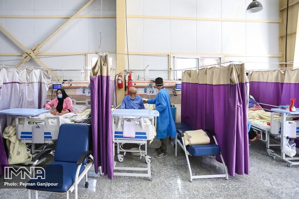 حال اصفهان خوب نیست/بستری بیماران کرونایی از مرز ۲ هزار نفر گذشت