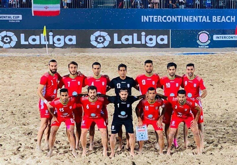 حذف تیم ملی فوتبال ساحلی ایران از جام جهانی روسیه با تصمیم AFC