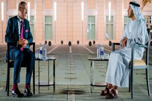 فرستاده رژیم صهیونیستی با وزیر خارجه امارات دیدار کرد