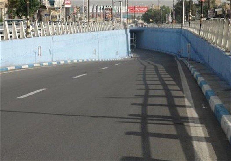 آغاز عملیات زیباسازی جداره زیرگذر میدان ابوذر