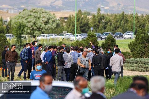 اعتراض کشاورزان اصفهانی به خشکی زاینده رود