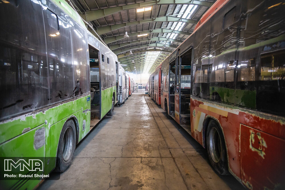 حمل و نقل عمومی مراغه با مشکل جدی مواجه است