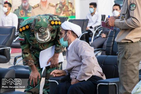 راه اندازی بیمارستان صحرایی ارتش