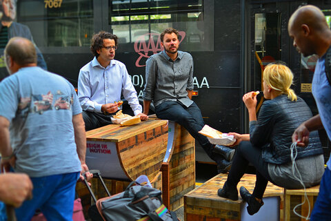 افزایش نشاط شهری از طریق خلاقیتهای ساده در سیاتل
